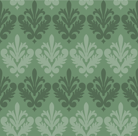 Seamless Victorian Style Wallpaper Background Stock Vector - 8202956