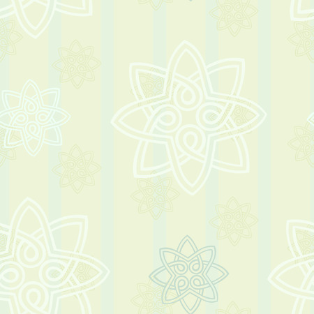 Seamless wallpaper background with vintage elements Stock Vector - 8202959
