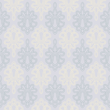 Seamless Victorian Style wallpaper background  Stock Vector - 8202962