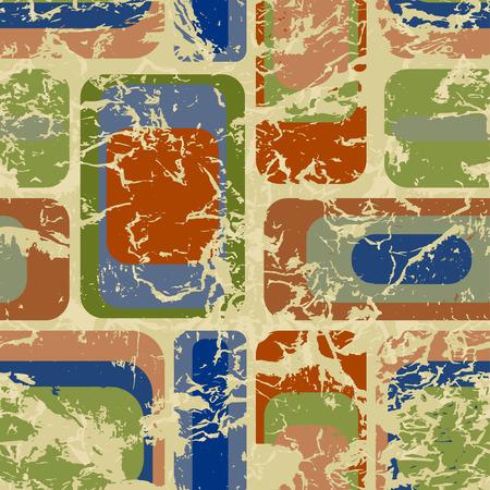 Seamless Retro Grunge Background