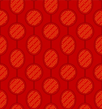 Seamless Chinese Pattern Background Vector