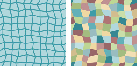 uneven: Set of 2 uneven square seamless background tiles
