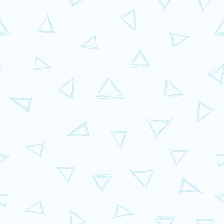 particularly: Pale seamless background tile with a hand scribbled scattered triangle pattern. This file would be particularly suited for use as the background for a blog or other casual website.   Illustration