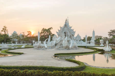 Wat  Rong khun at chiangrai photo
