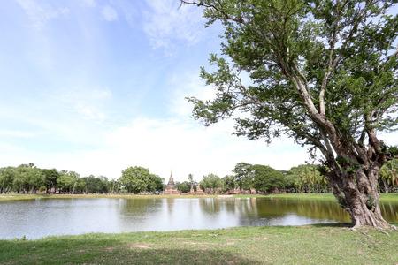sukhothai: Sukhothai Historical Park,Thailand Stock Photo