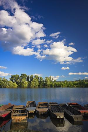 natural beauty of the River Stock Photo - 7911451