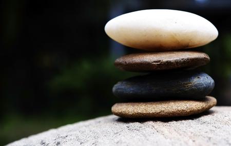 stones tower like zen