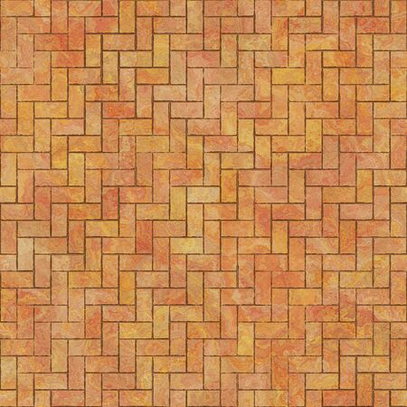 Terrakottafliesen nahtlose digitale Textur für mehrere Anwendungen: Großformatdruck, kommerzielle Dekoration, Bühnenbild, Themenbereiche usw. 5000 x 5000 px