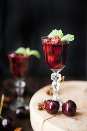liqueur: Strong alcohol cherry liqueur