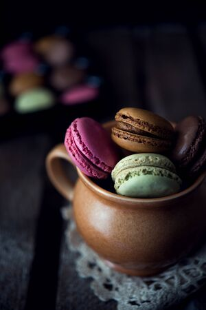 macarons: Colorful and delicious french macarons