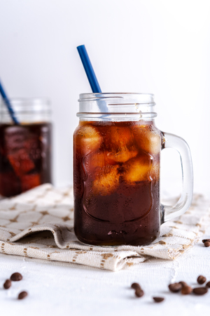 Cold brew coffee 스톡 콘텐츠