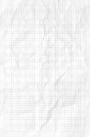 college ruled: Handmadecrumpled paper texture or background