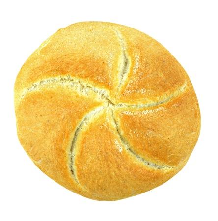 白い背景の上にパン。クリッピング パスが含まれています