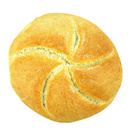 Loaf on White Background. Clipping path included Standard-Bild