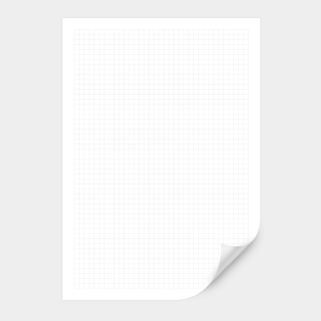 White squared paper sheet background or textured Banco de Imagens - 20471031