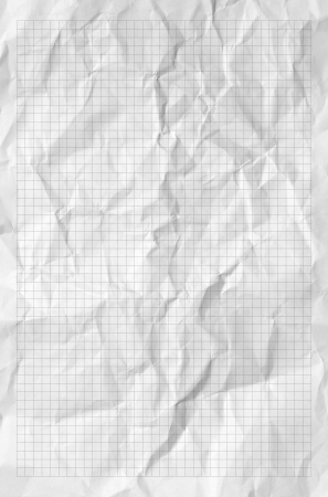ruled paper: Handmade crumpled paper texture or background