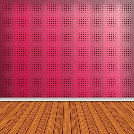 Empty room, interior with wallpaper. High resolution texture background. Stock Photo - 25338869