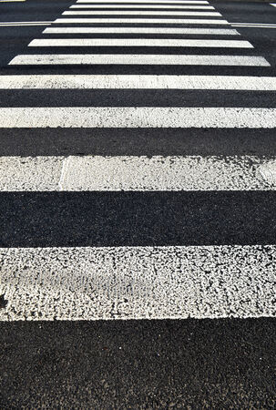 pedestrian crossing. Transportation background texture  photo