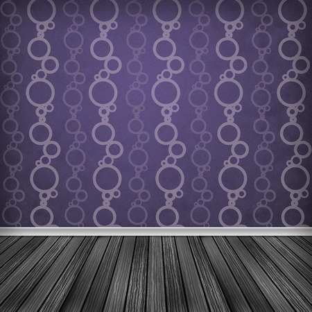 Baccate, Violet, pink Empty room, interior with wallpaper. High resolution texture background. photo