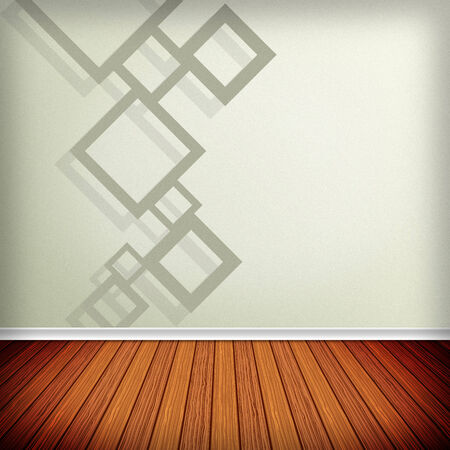 Grey, white empty room, interior with wallpaper. High resolution texture background. photo