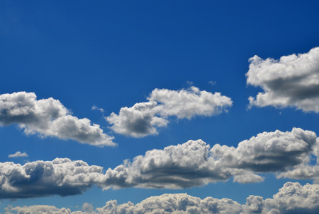 climatology: Wonderful blue sky, with some white clouds