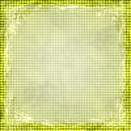 Yellow, Gold, grunge background. Old abstract vintage texture with frame and border. photo