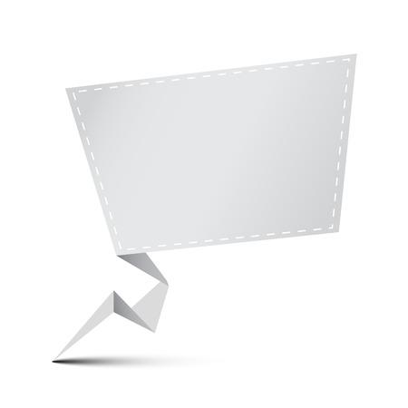 advertisement: Leere Anzeige Kopie Raum Banner. Vektor-Illustration.