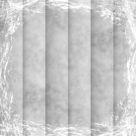 White, Grey, silver grunge background. Old abstract vintage texture with frame and border.