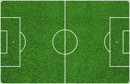 soccer field: Top view of soccer field or football field
