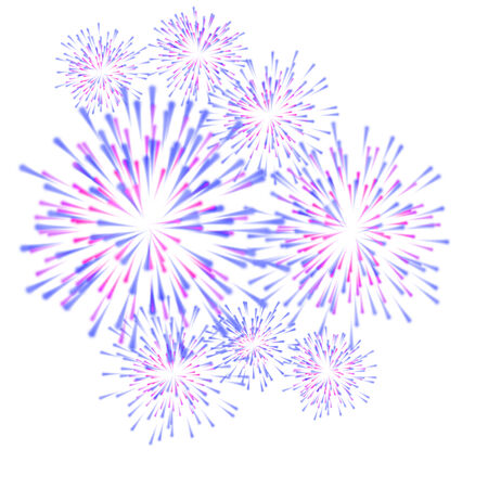 fireworks colorful carnival background photo