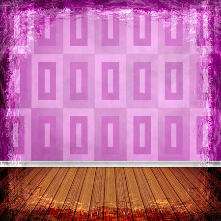 purple grunge: Pink, violet, purple grunge background. Old abstract vintage texture with frame and border.