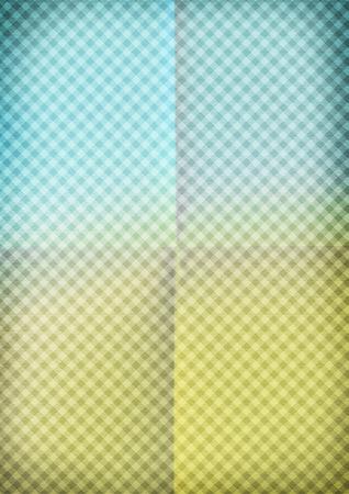 diagonals: Colorful background crumpled paper. Ornate diagonals tartan.