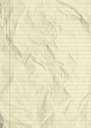in lined: Notebook lined paper texture background.
