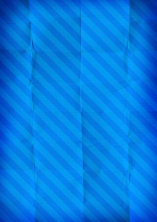 diagonals: Folded stripe paper blue background texture