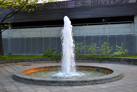 Water Fountain in the city.
