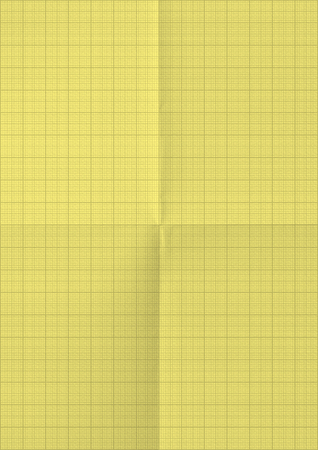 millimeter: Millimeter paper background. Yellow color.