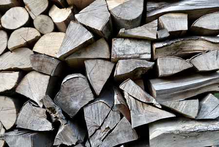 firewood background: Firewood background texture. Stock Photo