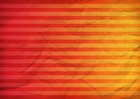 Striped folded paper red color background texture Stock Photo