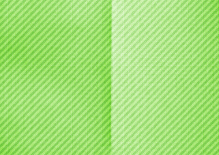 Folded diagonal striped paper. Green color background. Stock Photo