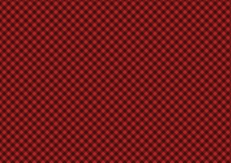 Sfondo di carta scozzese diagonale rossa