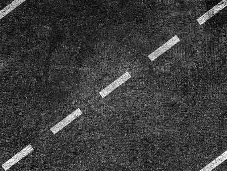 Asphalt road with dividing white line. Stok Fotoğraf