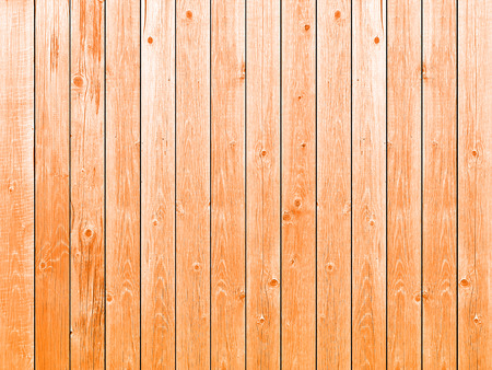 Orange background wooden planks board texture