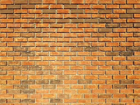 Fondo rosso di struttura del muro di mattoni