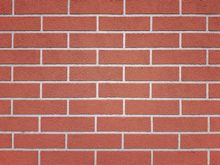 Brown clean brick wall texture background