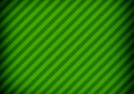Diagonal striped paper. Green color vignette background.