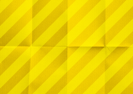 Striped paper texture yellow background