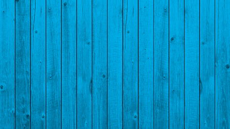 Blue background wooden planks board texture