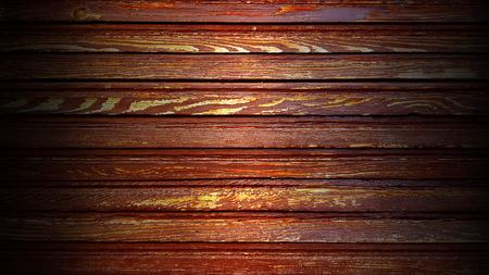 Vintage background brown wooden planks board texture Banco de Imagens