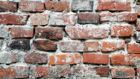 Grunge brick wall background texture Banco de Imagens
