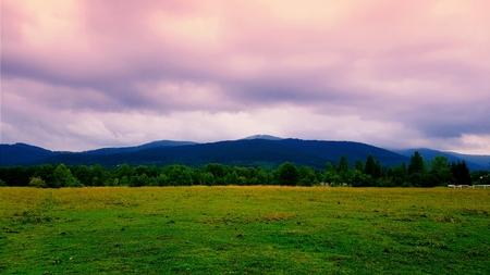 Beautiful view mountain landscape Banco de Imagens